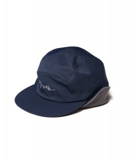 NYLON FLEECE CAP (NAVY)
