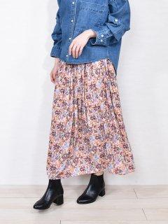 DONEEYU (ドニーユ) 花柄 ロング スカート