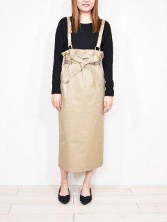 mink chair (ミンクチェアー) リボン 付 ジャンパー スカート