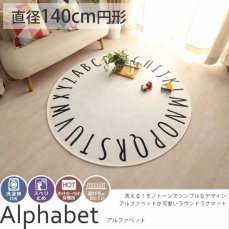 アルファベット 円形