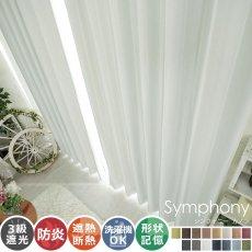 全15色のカラー♪高級感ある素材とデザインのドレープカーテン 『シンフォニー カノン』