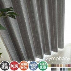全15色のカラー♪高級感ある素材とデザインのドレープカーテン 『シンフォニー レクイエム』