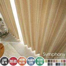全15色のカラー♪高級感ある素材とデザインのドレープカーテン 『シンフォニー エンターテイナー』