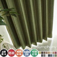 全15色のカラー♪高級感ある素材とデザインのドレープカーテン 『シンフォニー トロイメライ』