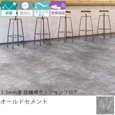 東リ クッションフロア『2.3mm厚 店舗用クッションフロア オールドセメント GS-4555CF』