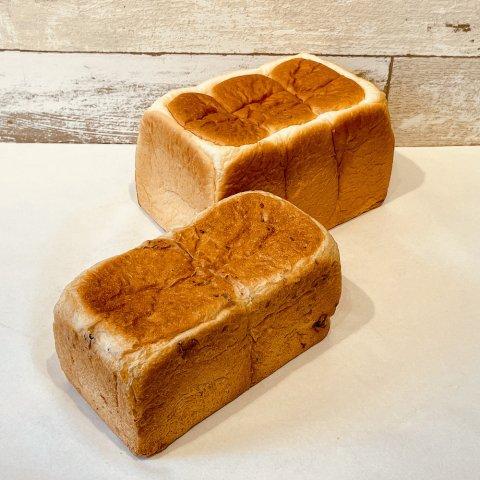 しっとり食パン&クルミブレッド