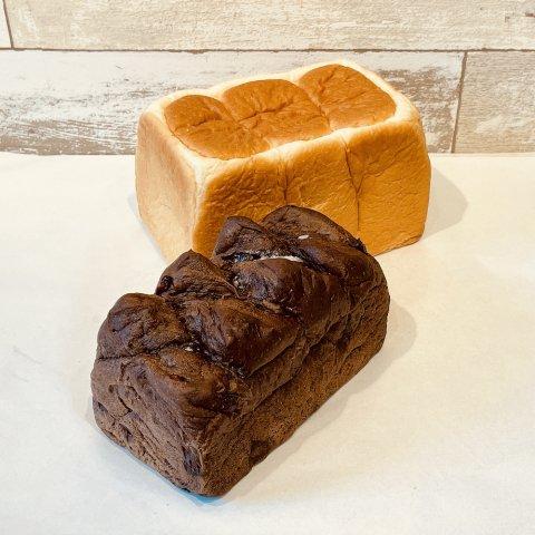 しっとり食パン&チョコブレッド