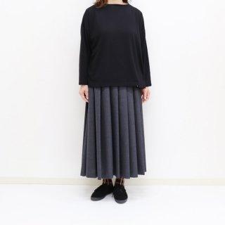 ボートネックワイド7分袖Tシャツ【Maison de PETITPOIS】