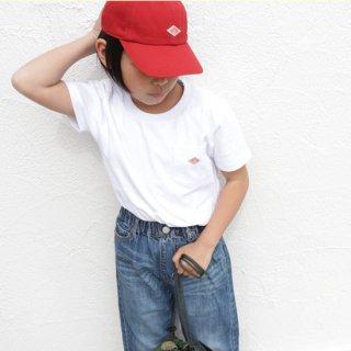 KIDS 半袖ポケットTシャツ 【DANTON】