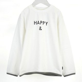 MENS CLEAR COTTON HAPPY & L/S T 【ARCH&LINE】