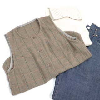 <img class='new_mark_img1' src='https://img.shop-pro.jp/img/new/icons14.gif' style='border:none;display:inline;margin:0px;padding:0px;width:auto;' />Tweed Vest 【Sarahwear】