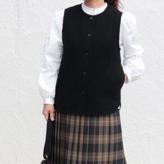 Felting Wool Vest 【Sarahwear】