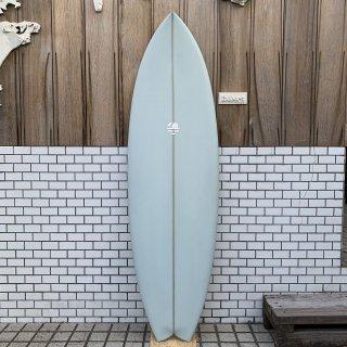 "MITSVEN SURFBOARDS SWALLOW TAIL FISH TRI 5'10"" ミツベン サーフボード スワローテイルフィシュ"