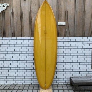 """MITSVEN SURFBOARDS ROUND TAIL QUAD 5'10"""" ミツベン サーフボード ラウンドテイル クアッド"""