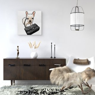 <img class='new_mark_img1' src='https://img.shop-pro.jp/img/new/icons36.gif' style='border:none;display:inline;margin:0px;padding:0px;width:auto;' />Classy Frenchie Black Bag