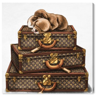 Sleeping Pair Suitcase