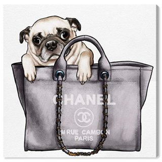 Pug in the Bag