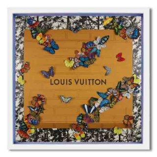 XXL Louis Vuitton Butterflies