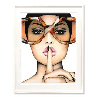 Orange Hush - Print -