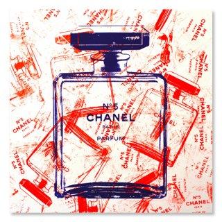 Orange Bottles of Chanel