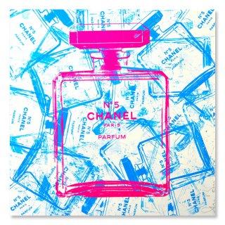Blue Bottles of Chanel