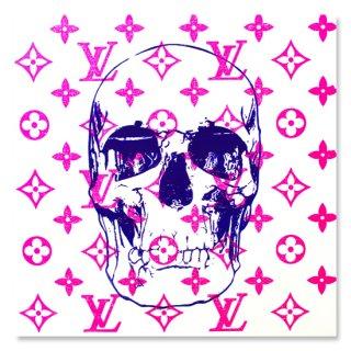 Pink LV meets Skull