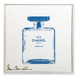 SKY BLUE CHANEL - Silk Screen -