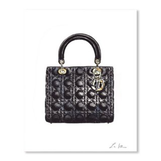 Lady Dior Black Handbag