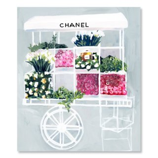 Fashion Flower Cart