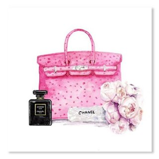 Hermes Bag With Flower