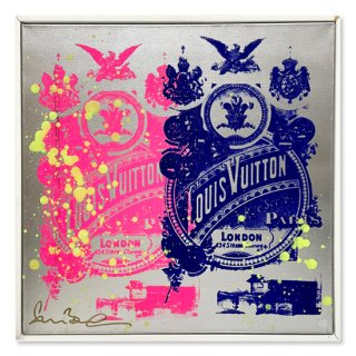 Le Pink Le Blue - Silk Screen -