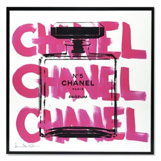 <img class='new_mark_img1' src='https://img.shop-pro.jp/img/new/icons16.gif' style='border:none;display:inline;margin:0px;padding:0px;width:auto;' />CHANEL CHANEL CHANEL White フロートフレーム付