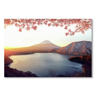 <img class='new_mark_img1' src='https://img.shop-pro.jp/img/new/icons14.gif' style='border:none;display:inline;margin:0px;padding:0px;width:auto;' />Sunrise Over Fuji San Mountain And Pink Sakura