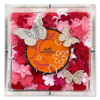 <img class='new_mark_img1' src='https://img.shop-pro.jp/img/new/icons14.gif' style='border:none;display:inline;margin:0px;padding:0px;width:auto;' />Hermes Floral Ring II
