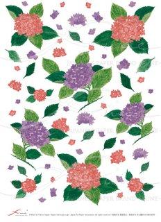 ライスペーパー「FUNE」RCHK02008 紫陽花