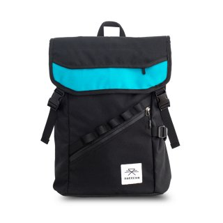 バックパック Mheecha / ALLEY BACKPACK / BLACK+TEAL