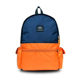 バックパック Mheecha / CAPSULE PACK / NAVY BLUE+ORANGE