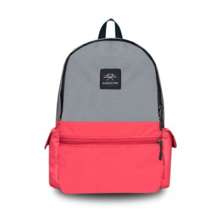 バックパック Mheecha / CAPSULE PACK / GRAY+CANDY RED