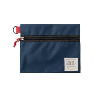 【送料全国一律 360円】ポーチ YATRI SUPPLY / YATRI TRAVEL CASE / NAVY BLUE