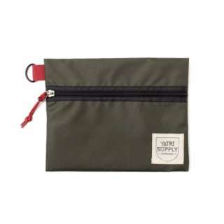 【送料全国一律 360円】ポーチ YATRI SUPPLY / YATRI TRAVEL CASE / MOSS GREEN