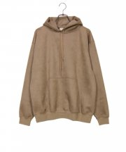 E/SUEDE HOODIE
