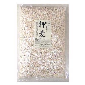 農薬・化学肥料・動物性肥料不使用 原さんの押麦(うるち種はだか麦) 500g