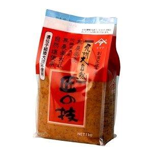 熊本県産 農薬・化学肥料不使用 匠の技(麦味噌) 1Kg