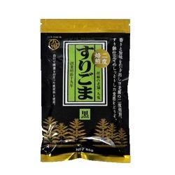 【お買い得】九鬼二度焙煎すりごま・黒 85g