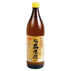 農薬・化学肥料不使用 ヤマア純玄米酢 900mL