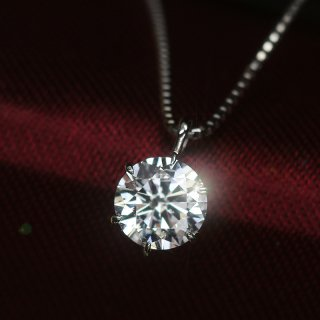 天然ダイヤモンド0.5ct D/Excellent ハートアンドキューピット Pt900 ネックレス 鑑定書付 還暦祝いギフト・プレゼント