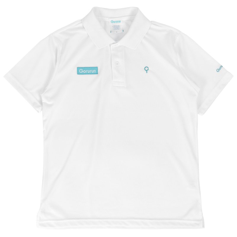 ベーシックスタイル クールパス ドライ ポロシャツ / ホワイト