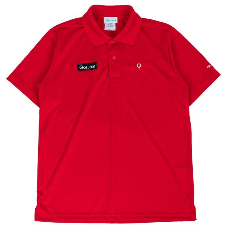 ベーシックスタイル クールパス ドライ ポロシャツ / レッド