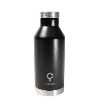 Gorurun mizu ステンレスウォーターボトル 560ml ブラック