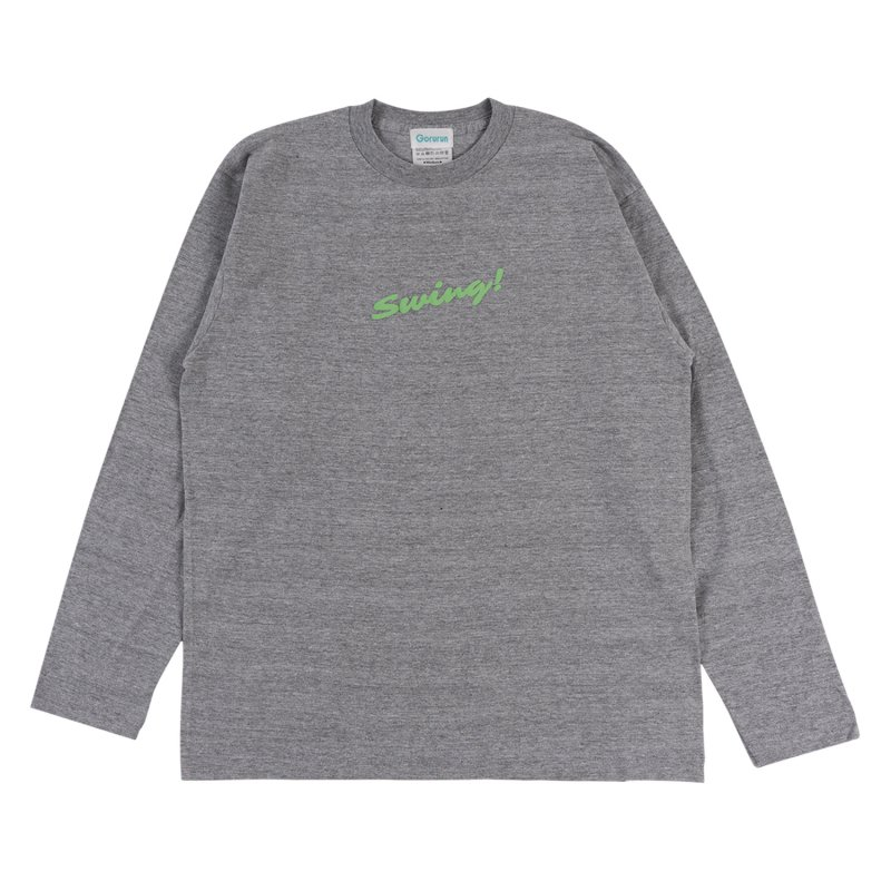 Blushed SWING L/S tee / グレー